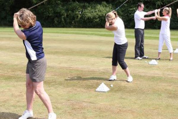 Ladies golf lessons