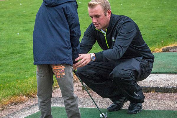 Junior Lesson golf